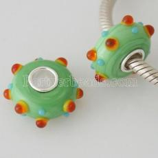 partner S925 murano lampwork glass bead