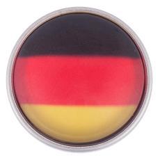 National flag glass print chunks - Germany