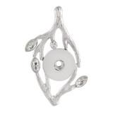 Pendentif de collier avec strass sans ajustement de la chaîne s'enclenche style ajustement 18 & 20mm chunks jewelry