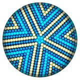 Дизайн 20MM Окрашенная эмаль, металл C5519 принт светло-голубой
