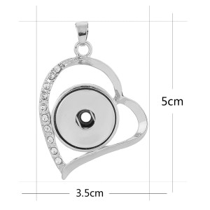 Pendant of necklace fit snaps style chunks jewelry