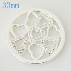 33 mm Alloy Coin fit Medaillon Schmuck Typ025