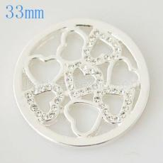 33 mm Alloy Coin fit Locket jewelry type025