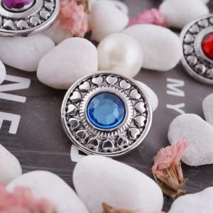 20MM оснастка сентябрь. Камень синий KC5041 сменные защелки ювелирные изделия