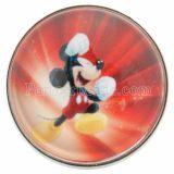 20MM rompe el vidrio de Anime C0736 joyería de broches rojos intercambiables