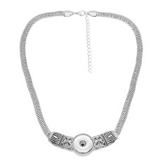 Collier avec chaîne 48CM KC1309 fit 20MM chunks snaps jewelry