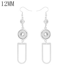 snap Earrings fit 12MM snaps style jewelry KS1263-S