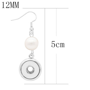 snap Earrings fit 12MM snaps style jewelry KS1264-S