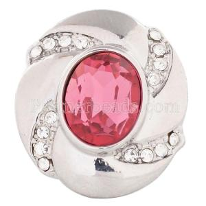 20MM snap Oct. birthstone pink KC5080 broches intercambiables joyería