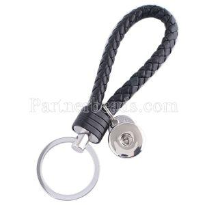 PU Leder Schlüsselbund Schlüsselbund mit Druckknopfverschluss KC1120 Snaps Jewelry