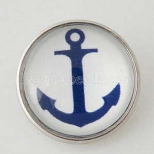 20MM snap glass Anchor KB2834-N Snaps interchangeables bijoux