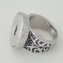 18MM 8# snaps metal Ring fit Fingers thick 17.5mm