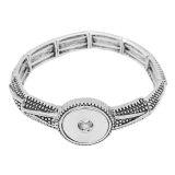 Boutons 1 encliqueter le bracelet de ruban pour 20MM s'enclenche bijoux KC0851