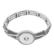 1 buttons snap sliver bracelet fit 20MM snaps jewelry KC0851