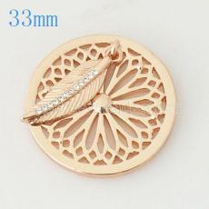 33 mm Alloy Coin fit Medaillon Schmuck Typ009