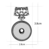 Anhänger der Kette ohne Kette schnappt Stil passen 18 & 20mm Stücke Schmuck