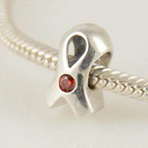 partner sterling silver beads with CZ stones