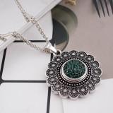 Broches de azúcar 18mm Aleación con diamantes de imitación verde oscuro Joyas de broches KB2315