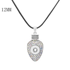 Pendant Necklace with 60CM chain KS1251-S fit 12MM chunks snaps jewelry