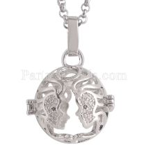 Angel Caller constellation ZODIAC-Gemini Necklace fit 16mm balls exclude ball  AC3779S