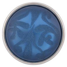 18mm s'enclenche bleu Style JewelPops morceaux
