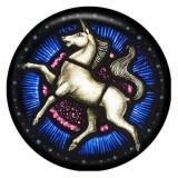 Лошадь 20MM Роспись эмалью по металлу C5553 с принтом защелок ювелирных изделий