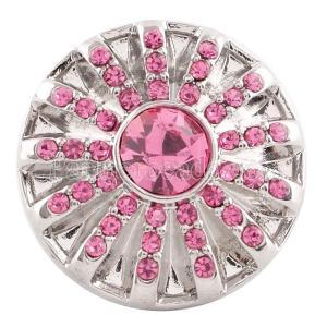 20MM оснастка октябрь камень розовый KC5068 сменные защелки ювелирные изделия