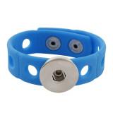 18см браслет для малышей младшего стиля с синей силиконовой эластичной полосой 15mm шириной 20mm