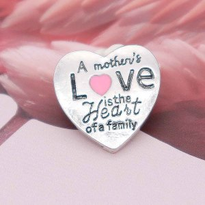 20MM Mother Snap Versilbert KC7882 Snaps Schmuck