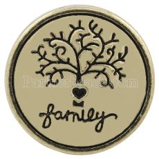 20MM Family snap Joyas de broches intercambiables KC8632 chapadas en oro antiguo