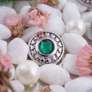 20MM оснастка мая камень зеленый KC5037 сменные защелки ювелирные изделия