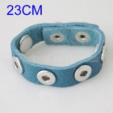 23CM soft imported Full-Grain real leather bracelets