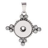 Pendentif de collier sans chaînette avec boutons-pression style ajustement 18 & 20mm Chunks Jewelry