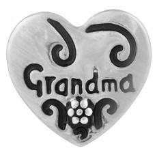 20MM grandma/mother snap Antique Silver Plated KB7033 snaps jewelry