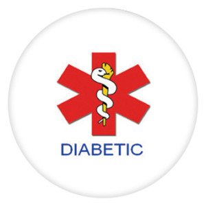 20MM диабетик. Окрашенная эмаль, металл.