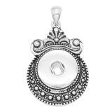 sliver Pendentif avec ajustement 20MM s'enclenche bijoux de style KC0432