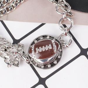 20MM Snap Ball Antique Silver Plated avec KB8218 en émail marron, s'enclenche les bijoux