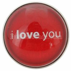 20MM valentine red snaps glass of music C0651 broches intercambiables joyería