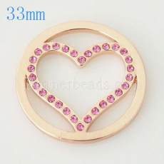 33 mm Alloy Coin fit Medaillon Schmuck Typ023
