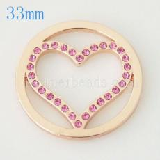 33 mm Alloy Coin fit Locket jewelry type023