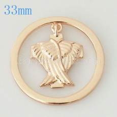 33 mm Alloy Coin fit Medaillon Schmuck Typ006