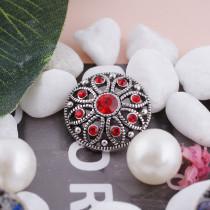 20MM snap Jul. birthstone  red KC5051 interchangable snaps jewelry
