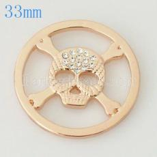 33 mm Alloy Coin fit Medaillon Schmuck Typ030