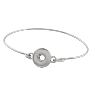 12MM Metal bottom of snaps bracelets