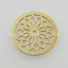 Les breloques en acier inoxydable 25MM conviennent à des bijoux de petite taille