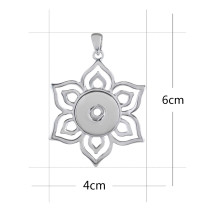 Pendant of necklace without chain fit 18/20mm snaps style jewelry KKC0378