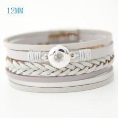 Les bracelets en cuir PU 7.59inch conviennent à 12MM