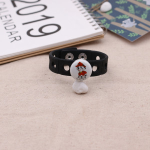 20MM Cartoon Painted enamel metal C5592 CH3 print snaps jewelry