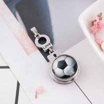 20MM snap glass Football KB2503-N Snaps Bijoux interchangeables