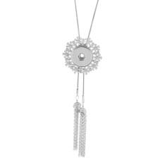 Collier pendentif en strass avec chaîne 80CM KC1014 18 & 20MM fit briser les bijoux